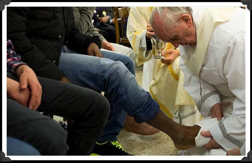 washing pope pic