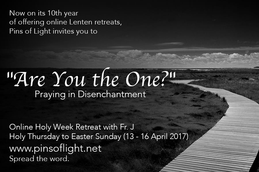 Lent 2017 are you the one poster
