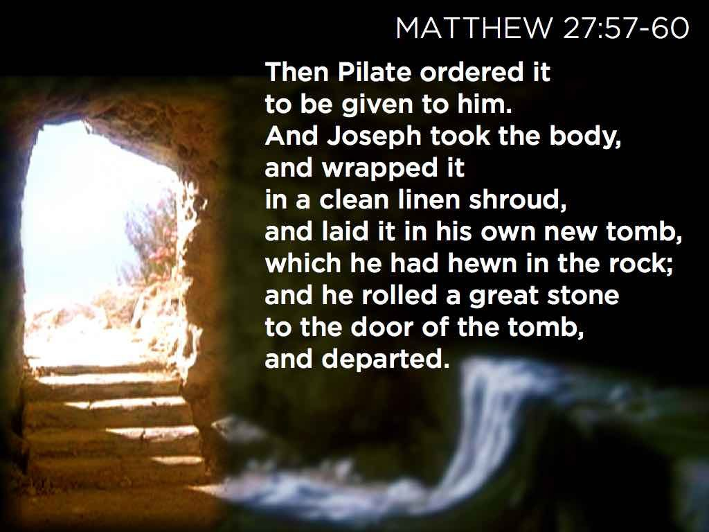 empty tomb.135